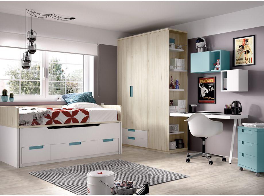 Dormitorio juvenil Rimobel 109