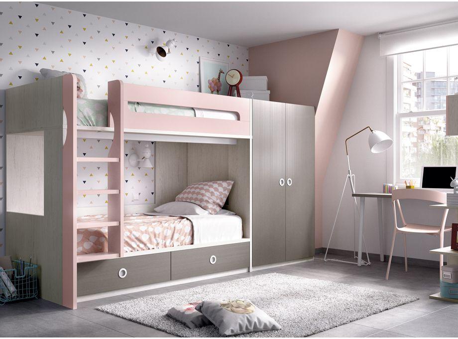 Dormitorio juvenil Rimobel 302