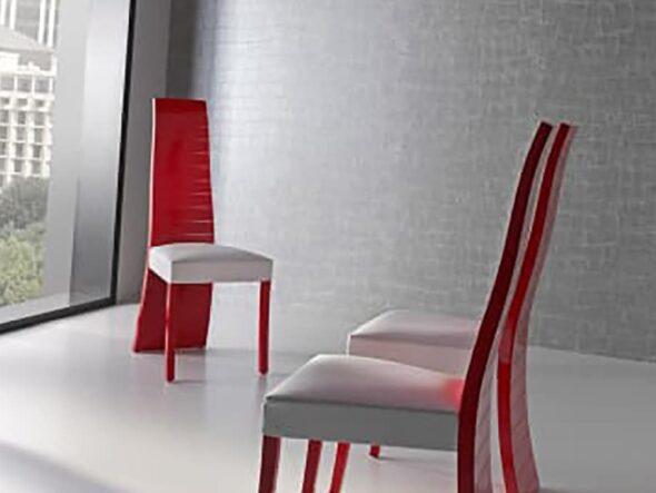 Silla HG Robles color rojo