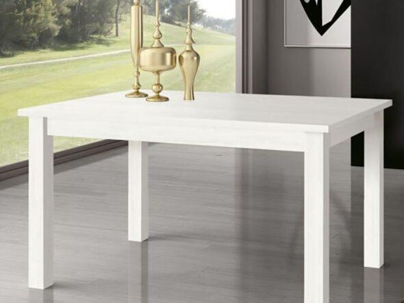 Mesa de comedor Ramis en color polar