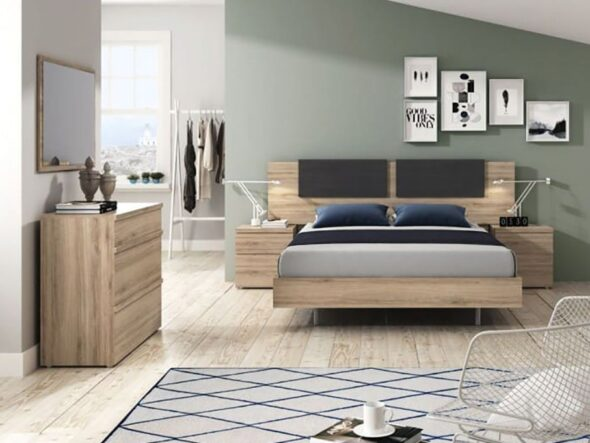 Dormitorio de matrimonio barato Ramis 553