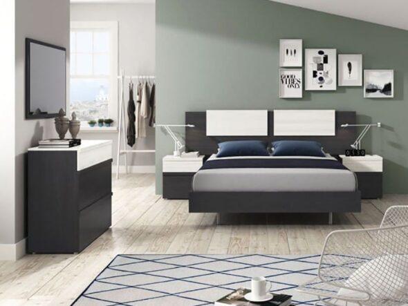 Dormitorio de matrimonio barato Ramis 554