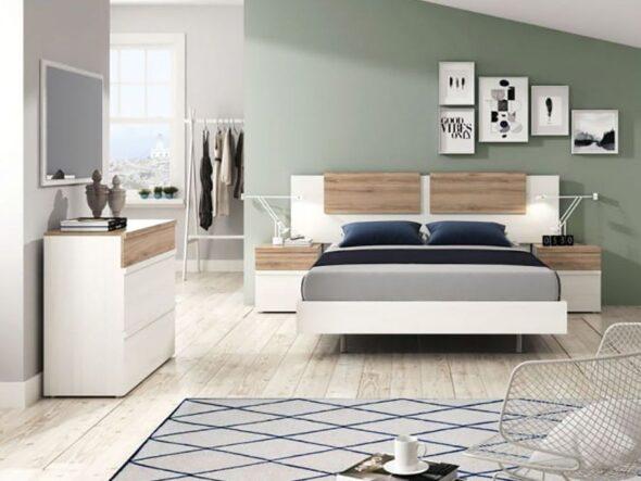 Dormitorio de matrimonio moderno Ramis mileno 555