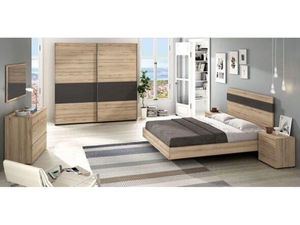 Dormitorio de matrimonio moderno Ramis Neo