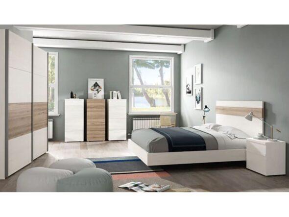 Dormitorio matrimonio moderno Ramis Neo