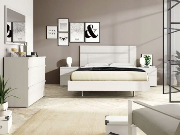 Dormitorio de matrimonio barato Ramis Milano 561