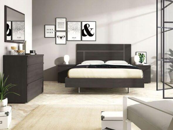 Dormitorio de matrimonio barato Ramis Milano 562