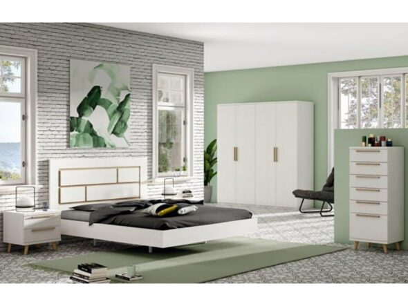 Dormitorio de matrimonio barato Ramis Nix 151