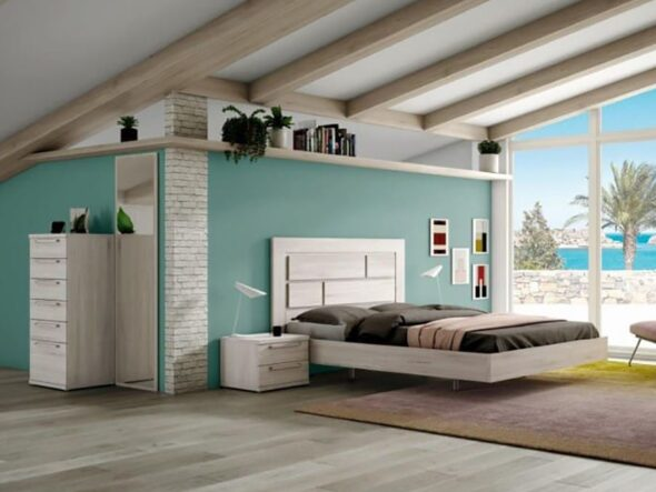Dormitorio de matrimonio moderno Ramis Nix 152