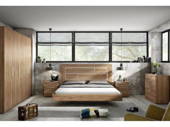 Dormitorio de matrimonio barato Ramis Milano 153