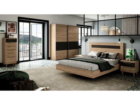 Dormitorio de matrimonio barato Ramis Nix 155