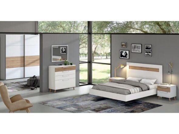 Dormitorio de matrimonio moderno Ramis Nix 156