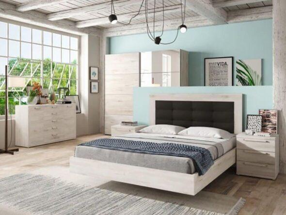 Dormitorio de matrimonio moderno Ramis Neo 158