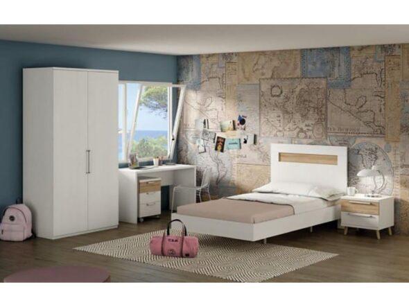 Dormitorio juvenil barato Ramis 162