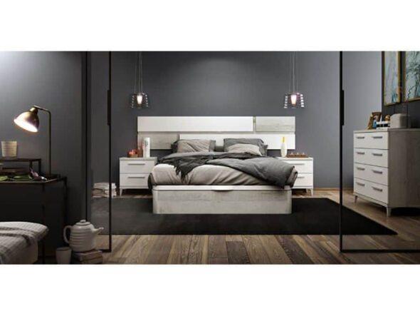 Dormitorio de Azor con canapé