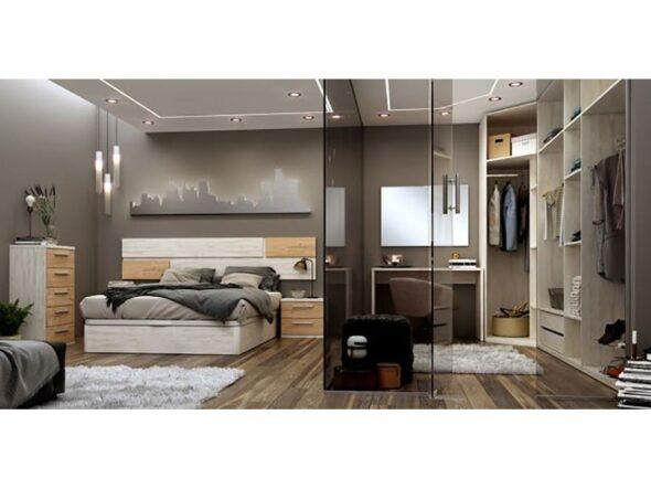 Dormitorio azor Urban con vestidor