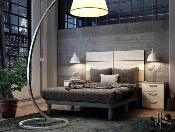 Dormitorio de matrimonio urban 74 - Azor