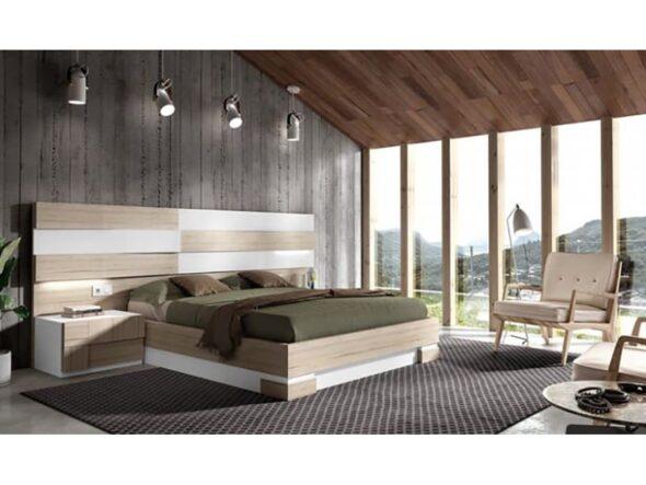 Composición dormitorio Rosamor Vey Wood 33