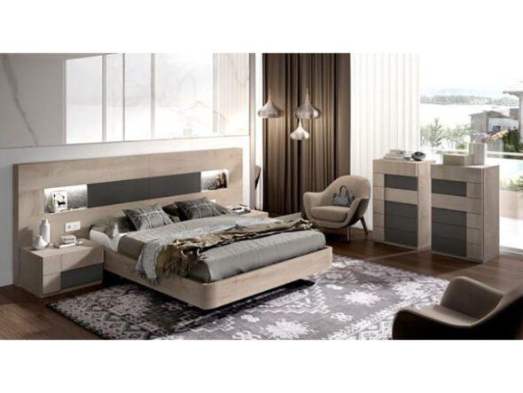 Composición dormitorio Rosamor very wood 335