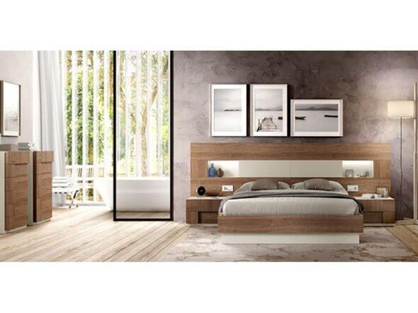 Composición dormitorio Rosamor Vey Wood 336