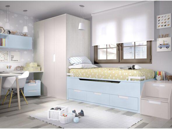 Dormitorio juvenil moderno Rimobel