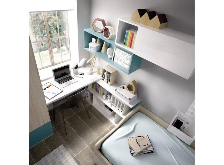 Detalle escritorio dormitorio para joven Rimobel