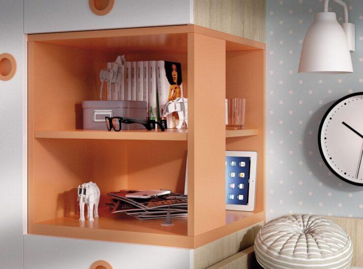 Detalle cubo armario