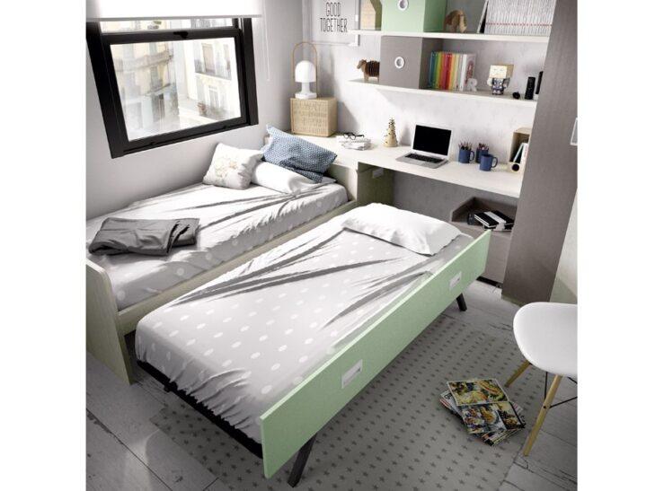 Detalle cama deslizante Rimobel