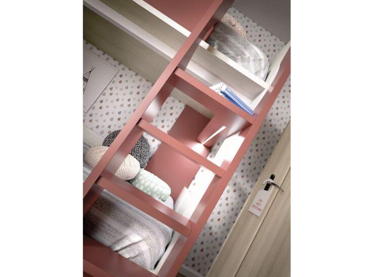 Detalle Dormitorio con literia RImobel 301