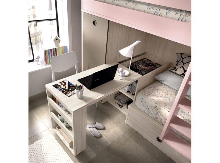 Detalle escritorio cama tren Rimobel