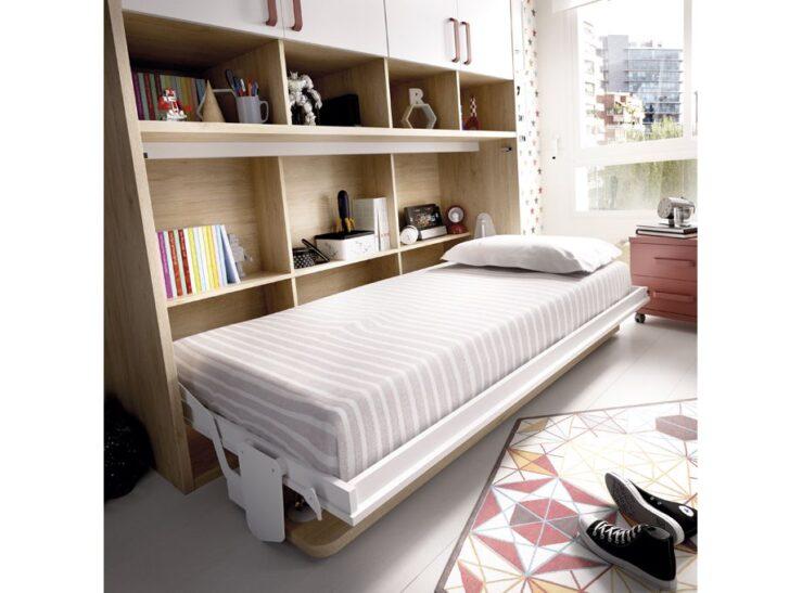 Detalle cama abatible Rimobel