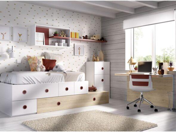 Dormitorio con sistema QB Rimobel