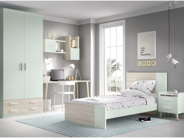 Dormitorio con cama senior Rimobel 608