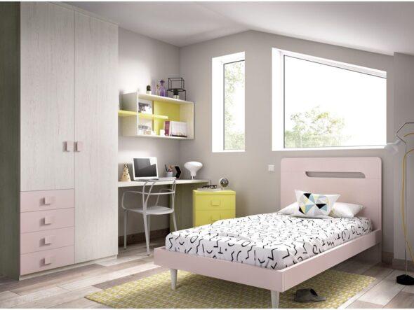 Dormitorio con cama senior Rimobel 613