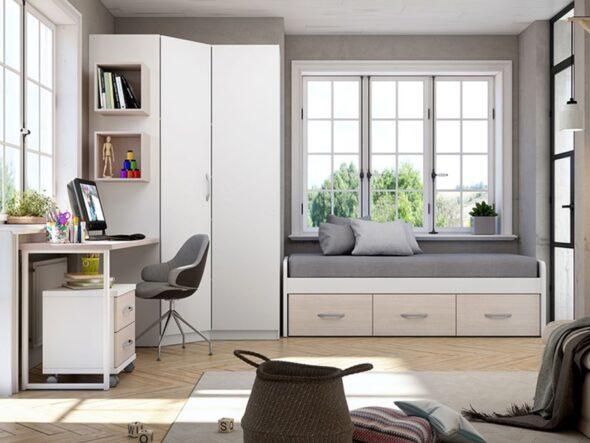 Dormitorio Juvenil barato azor lider 19