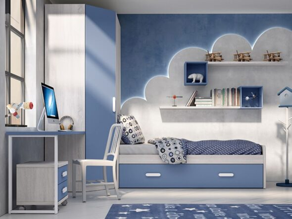 Dormitorio Juvenil barato azor lider 22