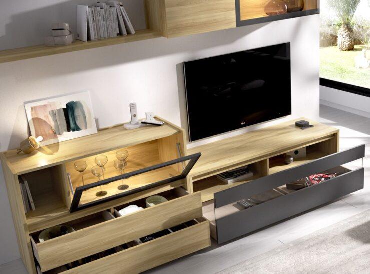 Composición de salón modelo duo 2