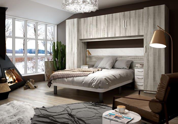 Cama nido dormitorio urban 81