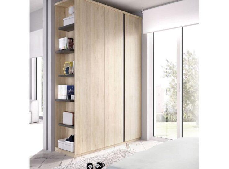 Detalle armario Dormitorio juvenil Rimobel mundo joven 606