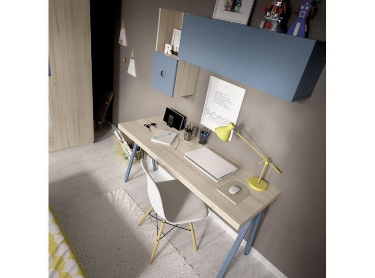 Detalle escritorio Dormitorio juvenil Rimobel mundo joven 614