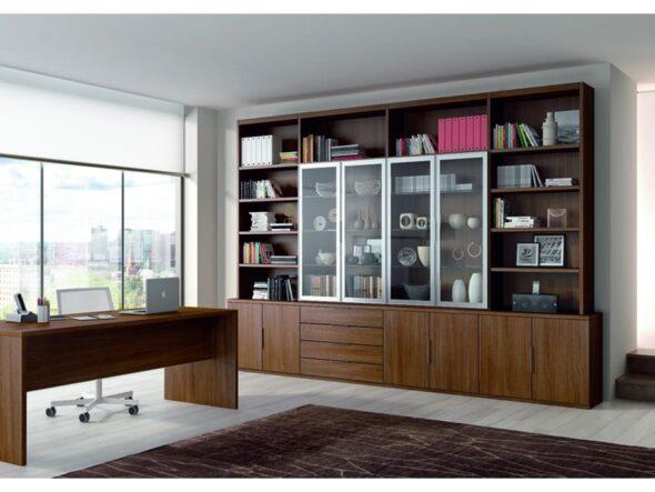 Estantería librería moderna alcomobi