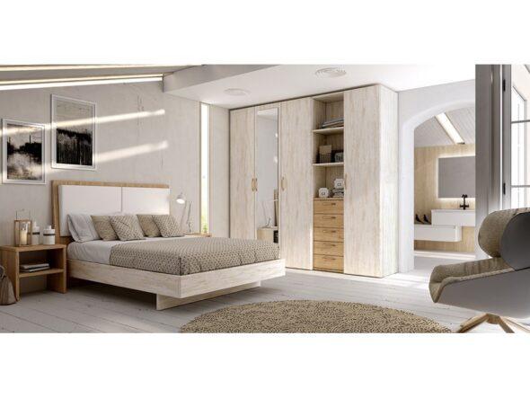 Dormitorio tapizado Azor Urban