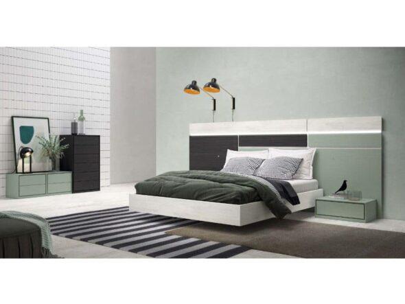 Dormitorio de matrimonio modelo Viena 10
