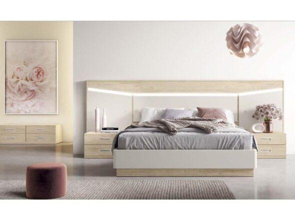 Dormitorio de matrimonio moderno Aparicio Donoso Viena 18