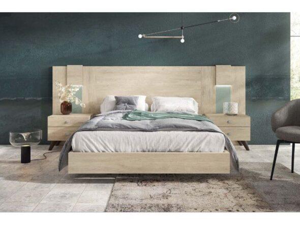 Dormitorio moderno y luminoso Aparicio Donoso Viena 27
