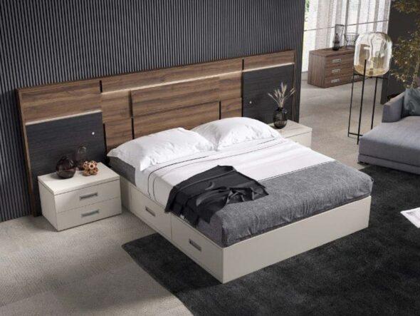 Dormitorio bancada con cajones Viena 31