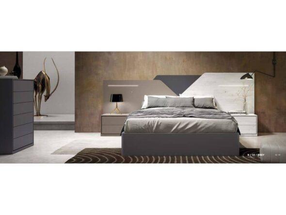 Dormitorio lacado modelo Viena 32