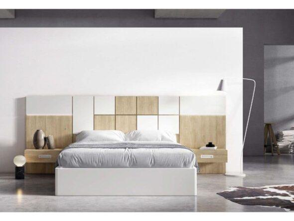 Dormitorio forma cuadros Viena 47