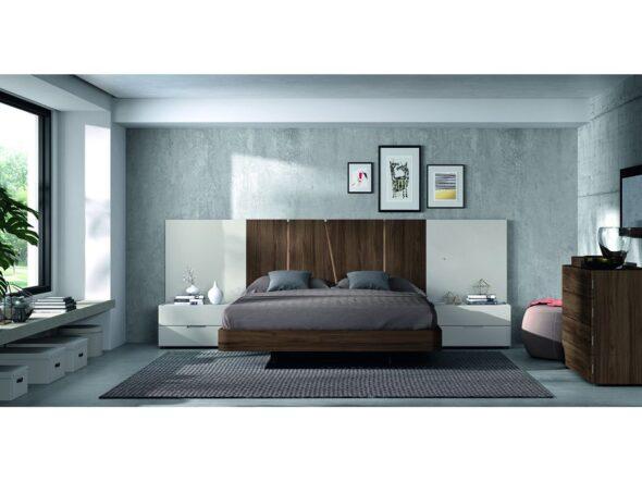 Dormitorio de matrimonio moderno modelo Cosmos 016