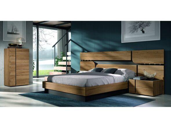 Dormitorio con sifonier modelo Cosmos 021
